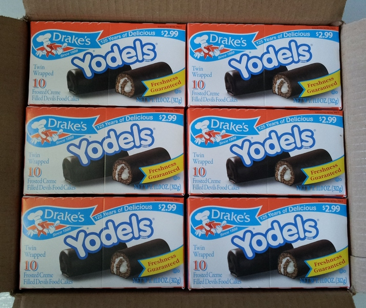 Yodels box of 10 Larger box sizes below