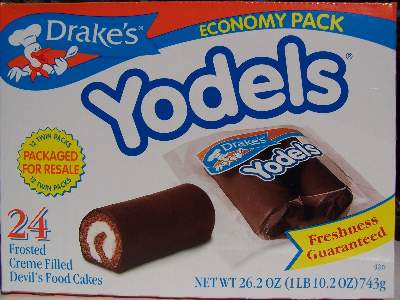 Yodels the big size box lots to eat